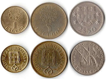 coin coins money portugal portuguese