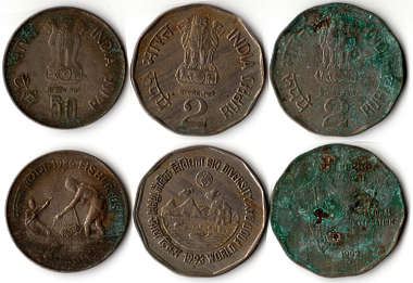 coin coins money corroded dirty