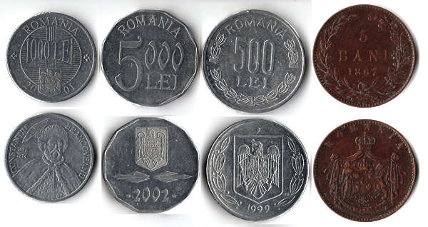 coin coins money romania