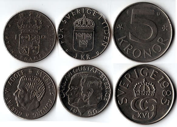 coin coins money sweden