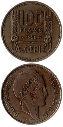 money coin coins algeria algiers