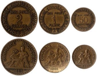 money coin coins france old