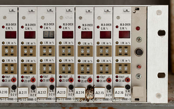 control panel electrics electricity switches counters