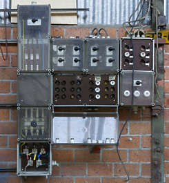 fusebox fuse box switch switches electricity
