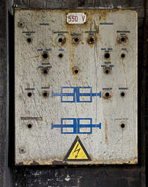 fusebox electric control panel electricity