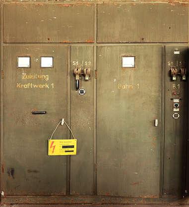 fuse fusebox metal door