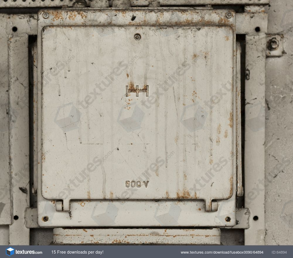 FuseBox0090 - Free Background Texture - fuse box lid metal beige light gray  grey desaturated
