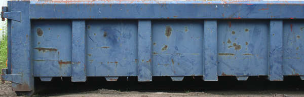dumpster container side