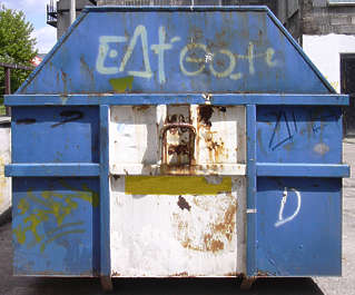 container trash dumpster