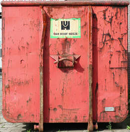metal container dumpster