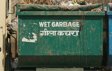 india garbage container dumpster