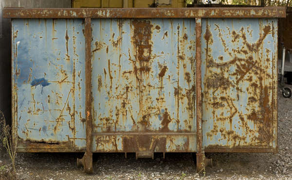 metal paint rusted rust scratches container