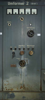 machinery meter electricity power dial gauge