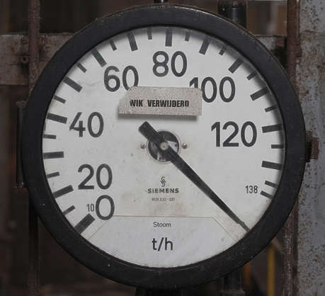 gauge meter temperature