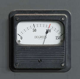 meter gauge gauges meters old degrees