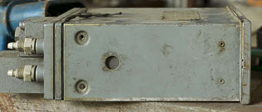 metal manmade equipment box gauge meter