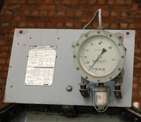 meter temperature dial gauge