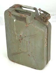 jerrycan jerry can canister metal old