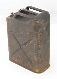 canister jerry can jerrycan old rusted weathered