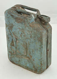 canister jerry can jerrycan old