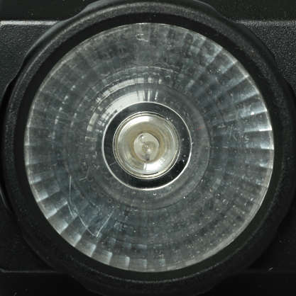 Lamp Light Flashlight Round Reflector