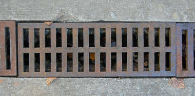 sewer grating