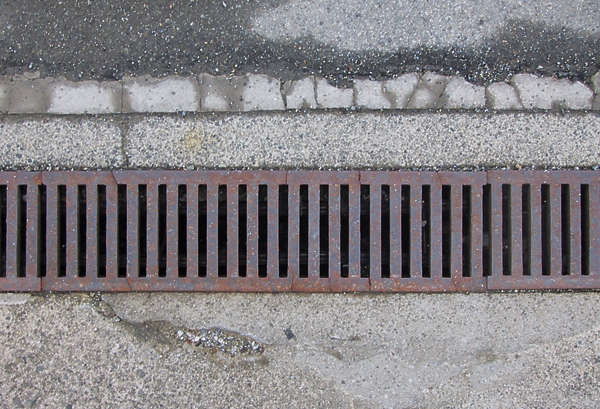 sewer grating grate rectangular