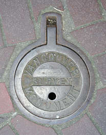 sewer round small metal