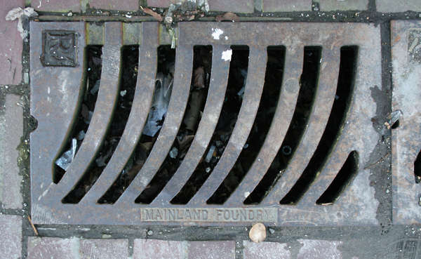 sewer square metal small grate grating