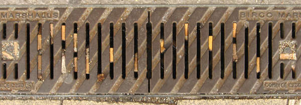 sewer grate grating