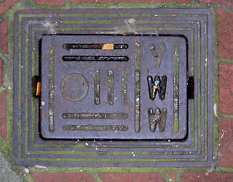 sewer lid rectangular rectangle