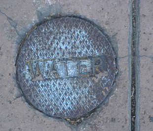 sewer lid small round
