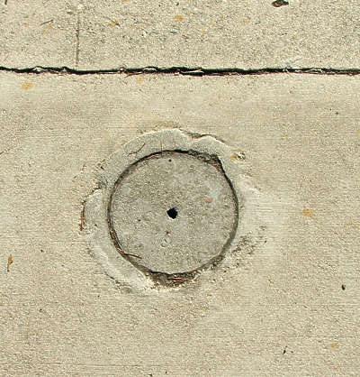 sewer lid round small