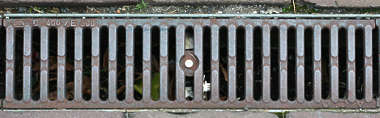 sewer grate grating rectangular