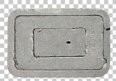 sewer lid rectangle