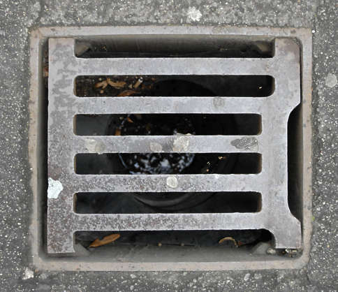 sewer lid square masked isolated alpha