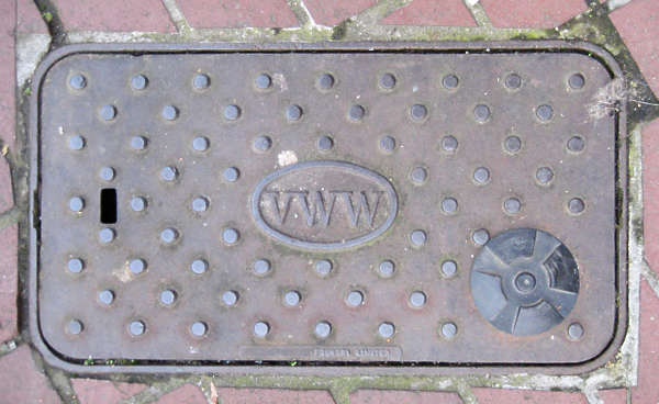 sewer lid rectangular rectangle masked isolated alpha