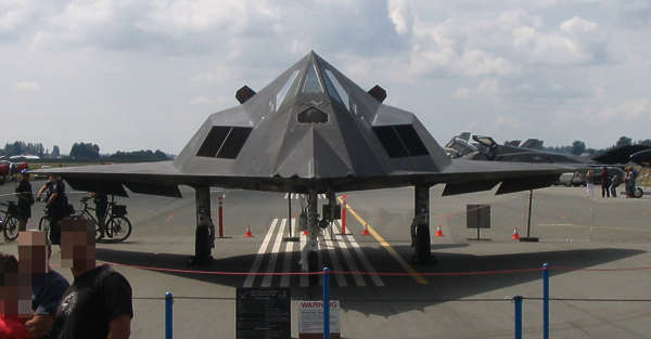 vehicle aircraft airplane stealth fighter F117