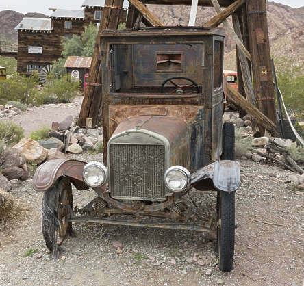 USA nelson ghost town ghosttown american car old 30s vehicle wreck rusted classic modelt model vintage