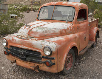 USA nelson ghost town ghosttown bus old 40s american pickup vehicle car wreck rusted classic vintage