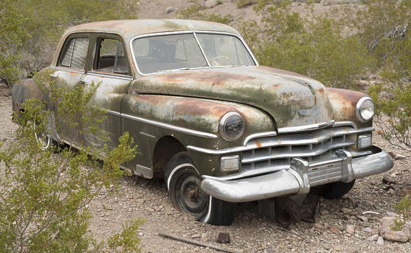 USA nelson ghost town ghosttown vehicle car 40s american wreck old rusted classic vintage