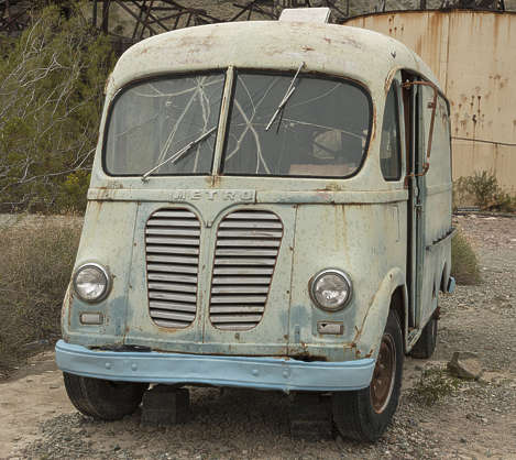 USA nelson ghost town ghosttown vehicle car 40s american truck bus wreck old rusted classic vintage