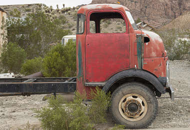 USA nelson ghost town ghosttown vehicle car 40s american truck wreck old rusted classic vintage