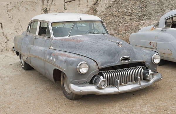 USA nelson ghost town ghosttown vehicle car 50s american classic vintage