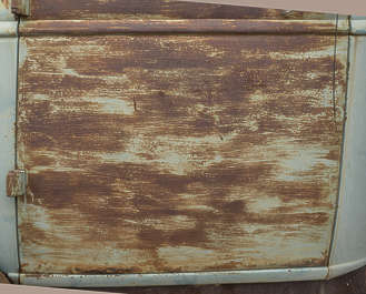 USA nelson ghost town ghosttown metal rusted painted corrosion corroded car door old grunge grungemap vintage
