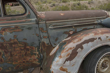 USA nelson ghost town ghosttown vehicle car 30s american wreck old rusted classic vintage