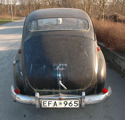 vehicle volvo old classic car