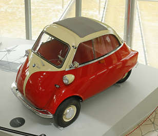 vehicle car isetta bmw car classic old