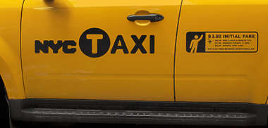 vehicle car taxi nyc ney york