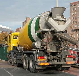 vehicle cement truck